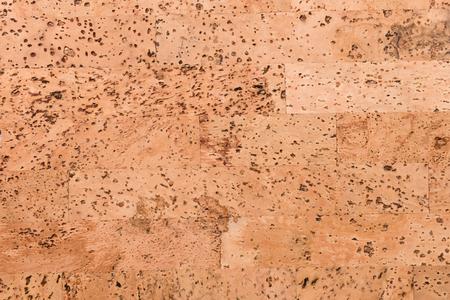 Bouchent le fond et la texture de la surface en bois du panneau de liège, produit de la nature industrielle
