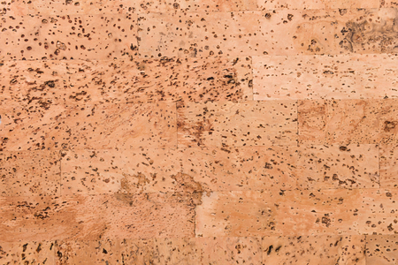Close Up Background and Texture of Cork Board Wood Surface, Nature Product Industrial Stock Photo