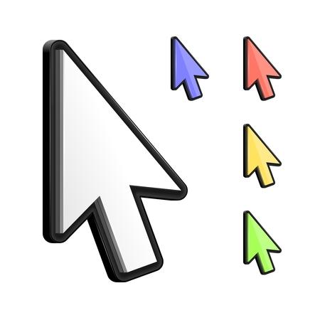 Vector 3d cursor