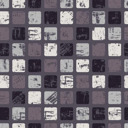 Dark grungy seamless pattern Ilustracja