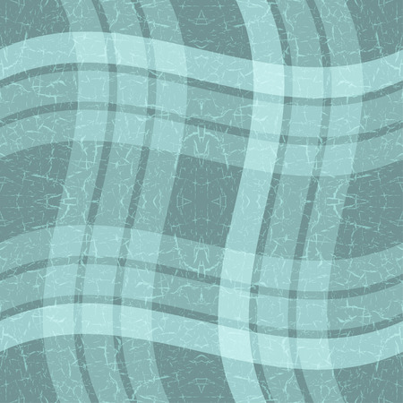 Grungy seamless blue background with wavy stripes