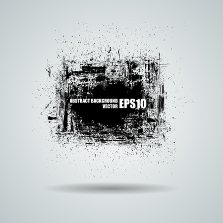Abstract grunge background. Vector banner