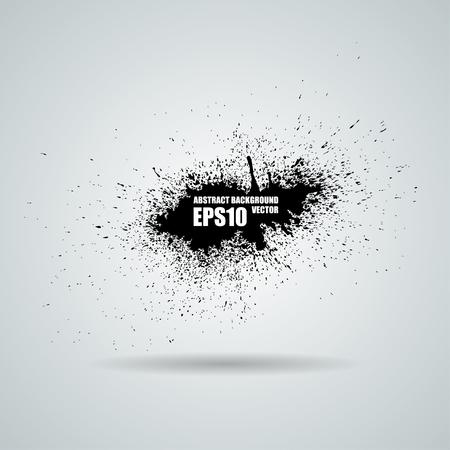 Vector grunge background. Ink blot element texture