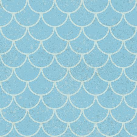 Vector seamless background. Retro grunge pattern texture