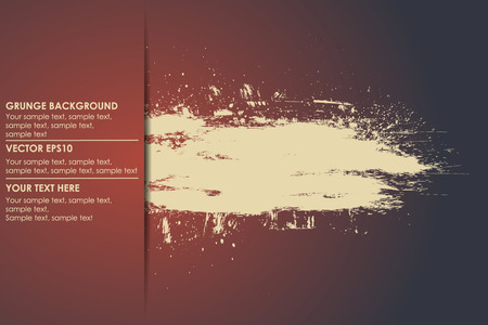 grunge banner: Grunge background for your text. Vector banner