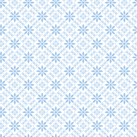 Abstract vector seamless pattern texture  blue background