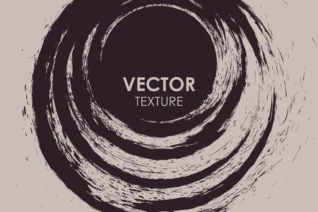 Abstract grunge round texture torn background