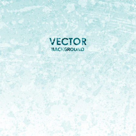 Vector abstract blue cold grunge texture background Ilustracja