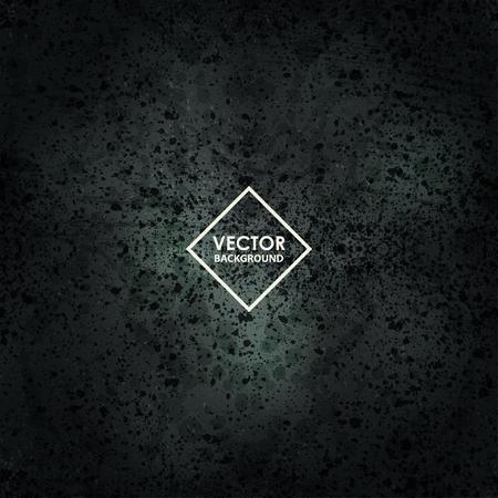 gloomy: Dark rough gloomy background. Vector abstract grunge design