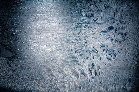 frost patterns for winter backgrounds