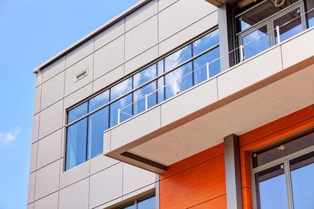 details of aluminum facade and aluminum panels Editoriali