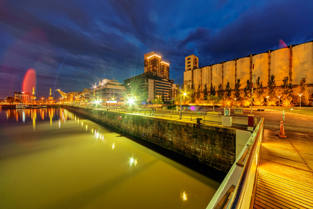 Puerto Madero district of Argentina capital city Buenos Aires Stock Photo