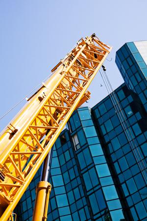 heavy industry: crane Stock Photo