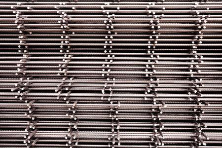 metal structure: network reinforcement Stock Photo