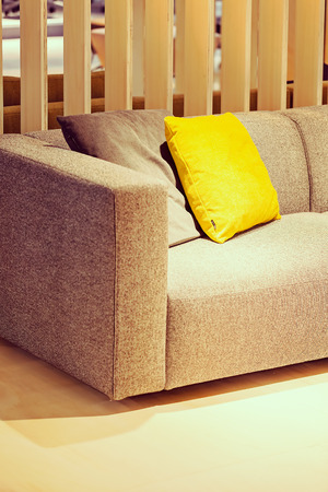 Modern Sofa For The Living Room, Note Shallow Depth Of Field Stock Photo    86184593