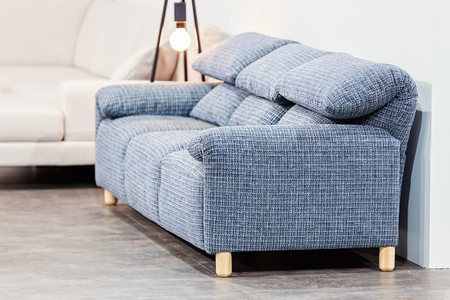 Modern Sofa For The Living Room, Note Shallow Depth Of Field Stock Photo    86185336