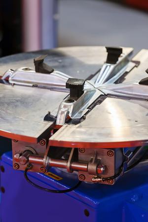 Een detail en een deel van de motor; let op ondiepe scherptediepte