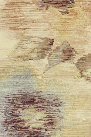 Voorbeeld van tapijt met bloemen details, noot ondiepe scherptediepte Stockfoto