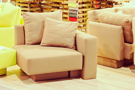 unusual furniture for the house, note shallow depth of field Stock Photo