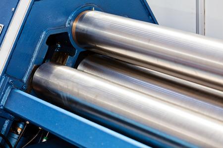 Elektrische en handmatige drie roller machine voor de industrie