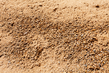 sand in construction with gravel Stok Fotoğraf - 89248444