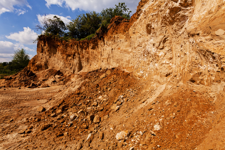 coarser sand in construction Stok Fotoğraf - 89248465