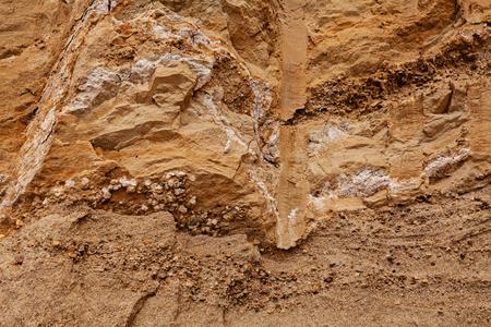 kleinere zand en rotsen in de bouw