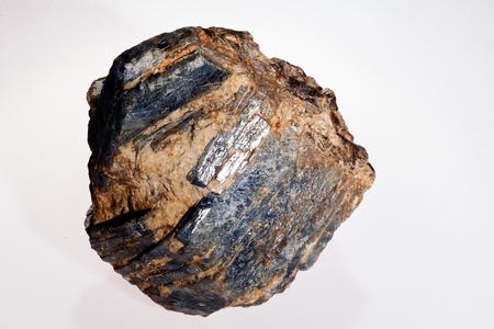 zafiro: zafiro en el fondo blanco