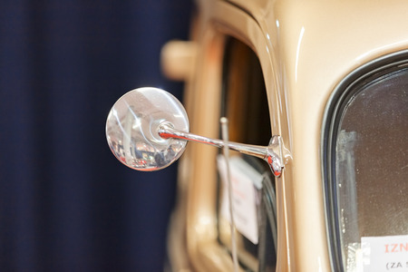 mirror on vintage cars, note shallow depth of field