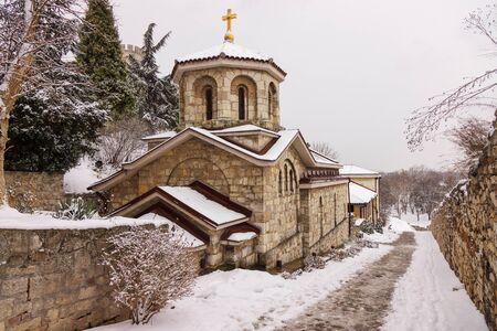 Orthodox Church in the city underthe snow Publikacyjne
