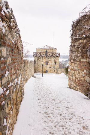 Belgrade fortress under the snow Publikacyjne