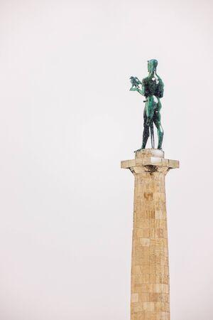 view of Belgrade Monument