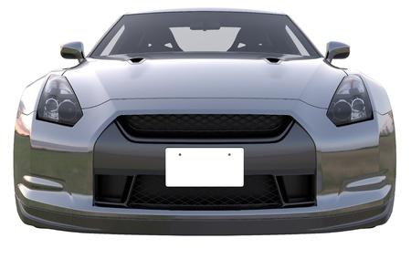 Black japan sport car photo