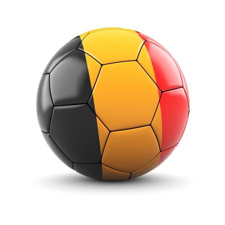 Soccer ball of Belgium