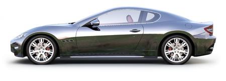 Black sport coupe CAR