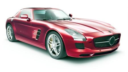 shiny car: Super sportwagen