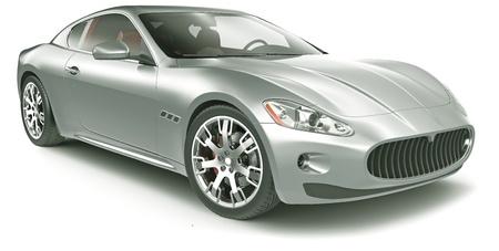 ruedas de coche: Coche deportivo de alto rendimiento