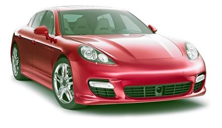 Red Stylish Car
