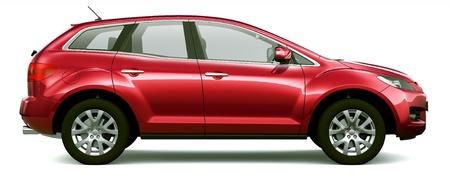 crossover: Mid-size crossover SUV
