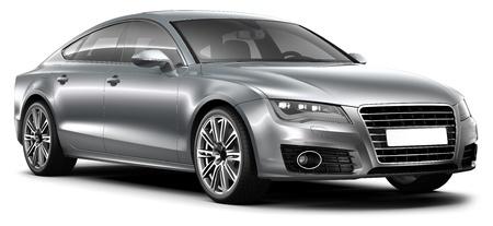 MODERN LUXURY CAR Stock Photo - 17042543