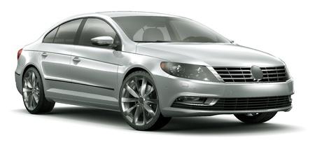 MODERN SEDAN CAR photo
