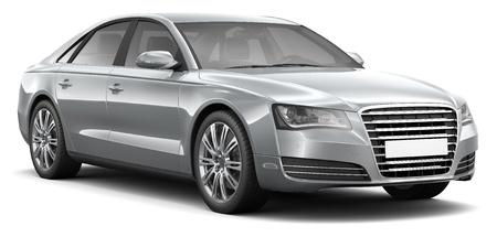 Four-door luxury sedan car
