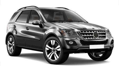 suv: Black SUV