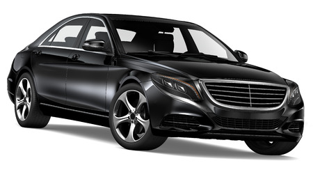 Black Luxury Sedan