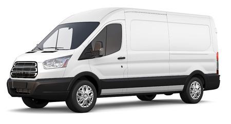 3D White cargo Imagens - 30575843