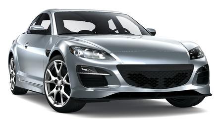 Elegant coupe car