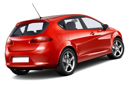 Compact hatchback car