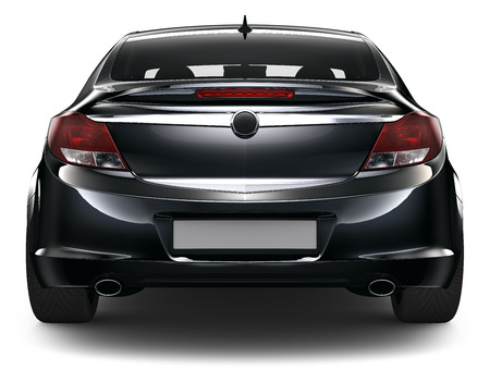 Black sedan Stock Photo - 32577998