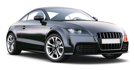 coupe: Sport coupe car