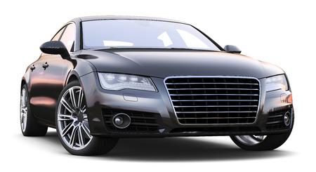 tornar: Carro preto